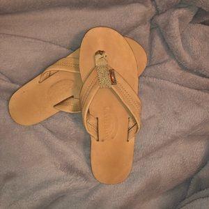 🌈Rainbow flip flops